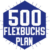 500 FlexBucks Plan $500.00