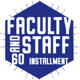 Faculty and Staff 60 Meal Plan (Installment Plan)