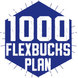 1000 FlexBucks Plan $1,000.00