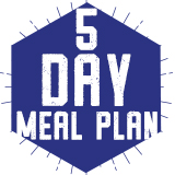 5 Day Meal Plan $2,100.00