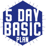 5 Day Meal Plan - Basic